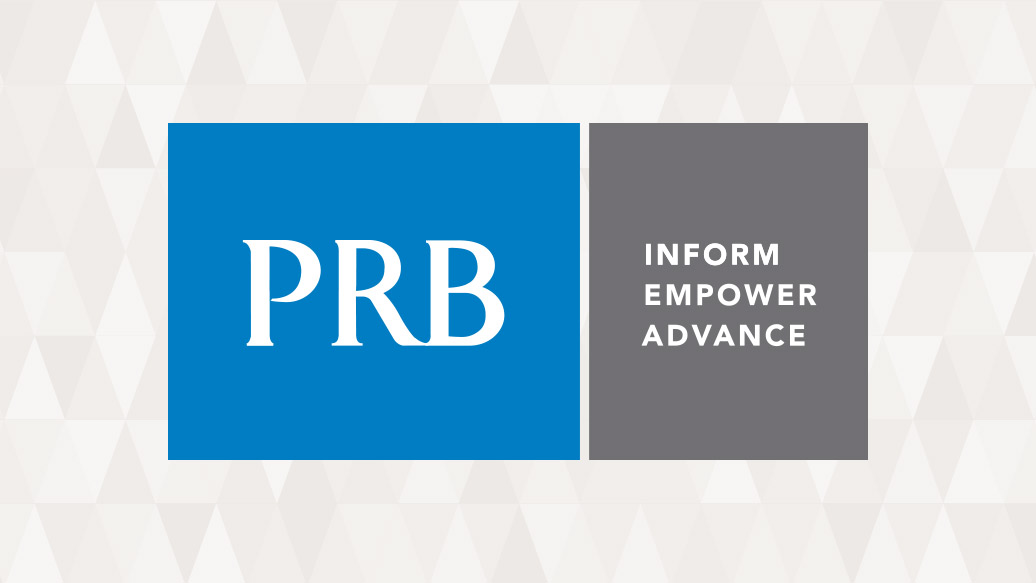 Logo: The Population Reference Bureau (PRB)