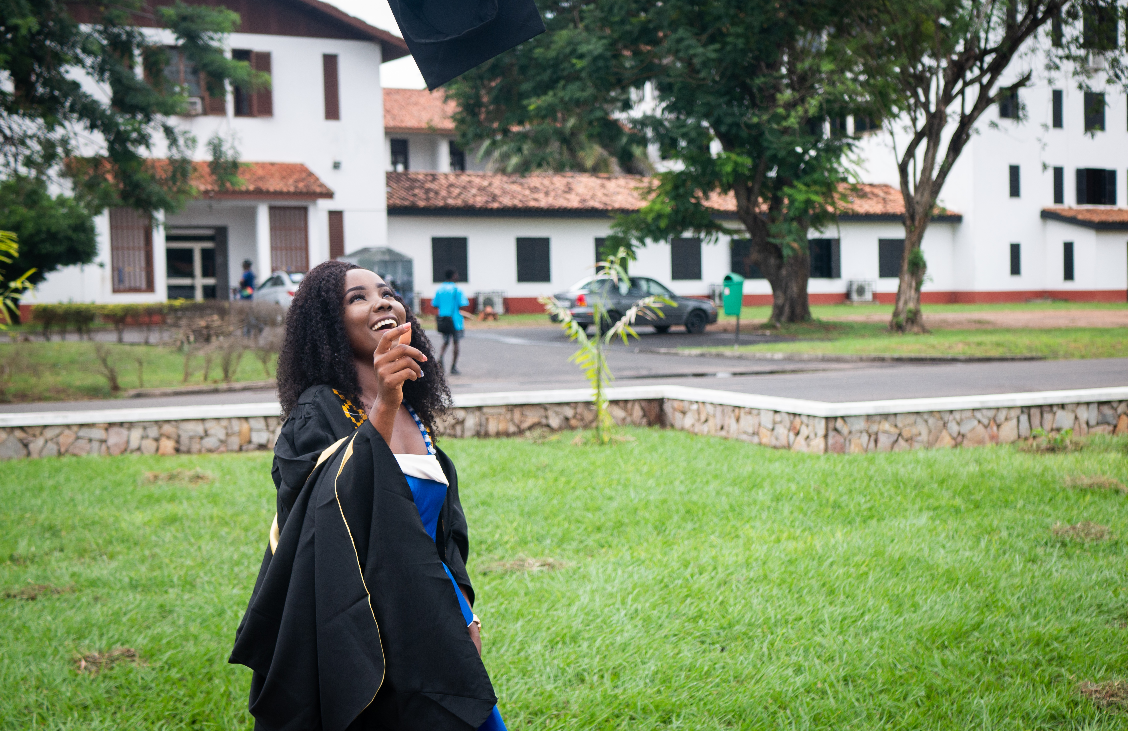Graduate from the University of Ghana, Accra