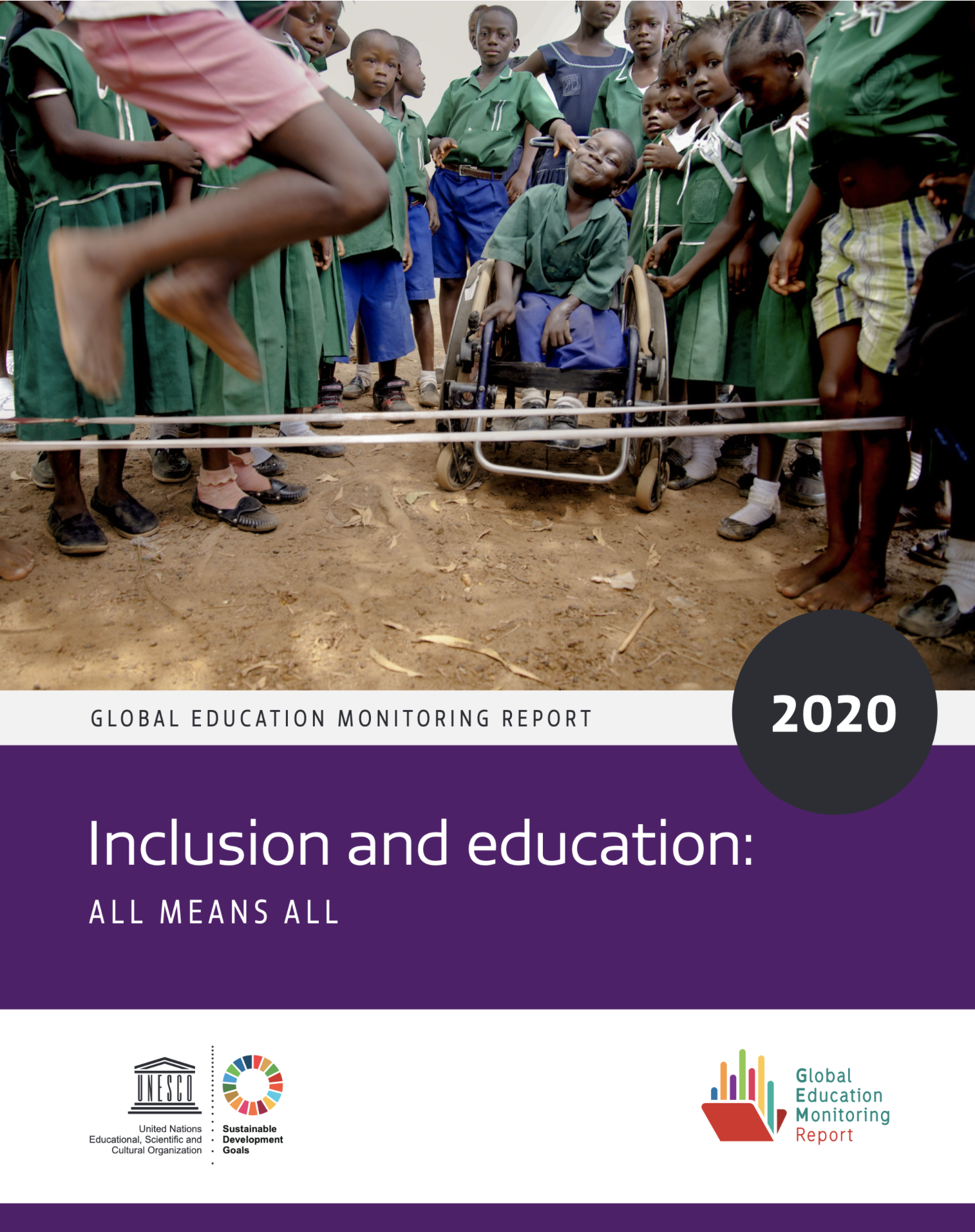 UNESCO Global Education Monitoring Report: Inclusion and Education